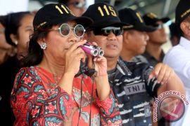 Susi kembali tegaskan penenggelaman kapal bentuk penegakan hukum