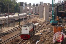 Kemenhub akan tutup enam perlintasan kereta api sebidang