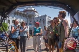 Kunjungan turis asing naik 9,12 persen selama Februari