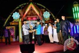 Kecamatan Rambutan Juara Umum MTQ Tebing Tinggi.