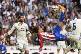 Derby Madrid berakhir imbang