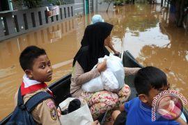 Bekasi rampungkan 80 persen proyek pengentasan banjir