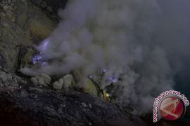 PPGA: letupan gas beracun aktivitas rutin Ijen selama Januari-Maret