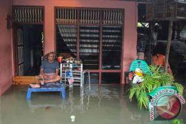 Sejumlah titik Kota Pekanbaru tergenang banjir