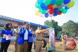 Balon, Barongsai dan Ondel - Ondel Warnai Pembukaan O2SN Tingkat Sekolah Dasar
