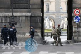 Kedapatan bawa sebilah pisau, pria ini ditangkap di Stasiun Paris