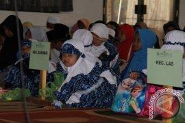 Sebanyak 344 Santri Ikuti Festival Anak Saleh