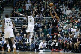 Raptors terkam Cavaliers 133-99