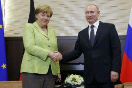 Merkel, Putin bahas isu sensitif di pinggiran Berlin