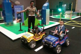 Blue Bird dukung IIMS Road Safety for Children di IIMS 2017