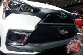 Gagahnya Toyota Sienta Dress-up di IIMS 2017