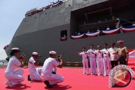 "Kapal perang ekspor ""SSV-2"" buatan Indonesia tiba di Filipina"