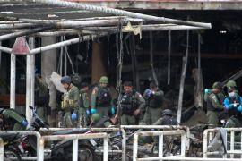 Pihak berwenang Thailand buru 10 tersangka terkait bom yang lukai 60 orang