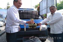 Pertamina Beri Kendaraan P4GN untuk BNNK Surabaya