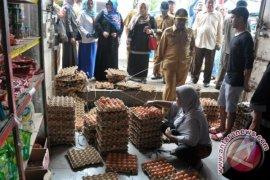 Satgas Pangan Aceh Barat pantau kenaikan harga telur