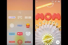 Instagram tambah filter dan stiker baru
