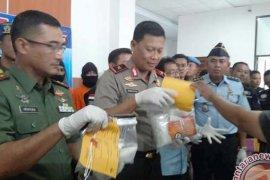 Polda Jambi tangkap oknum TNI bawa sabu