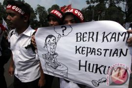 Guru bantu di Pekanbaru sudah empat bulan tidak gajian