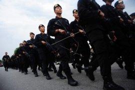 Polri - TNI Tingkatkan Keamanan Jelang HUT RI