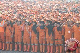 """Ribuan \""""pasukan oranye\"""" disiagakan selama musim hujan"""