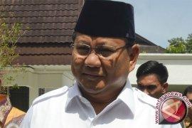 Prabowo hadiri deklarasi capres versi buruh KSPI
