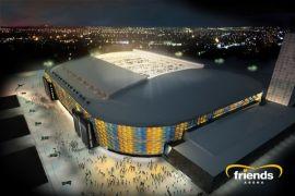 Stadion final Liga Eropa dijaga polisi bersenjata khusus