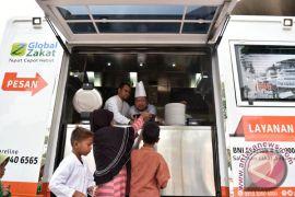 Humanity Food Truck hadir di Cikampek untuk para pemudik