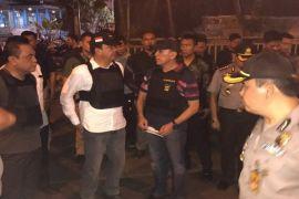 Foto Kepala BIN dan Kapolda sambangi TKP bom Kampung Melayu