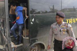 Empat tahanan  Rutan Pakjo Palembang kabur