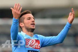 Napoli bungkam Atalanta 1-0, Mertens akhiri puasa gol