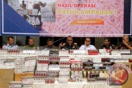 Polisi gagalkan penyelundupan rokok ilegal ke Simeulue