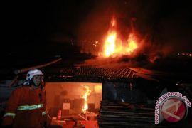 Tiga kebakaran landa Jakarta Pusat saat Lebaran