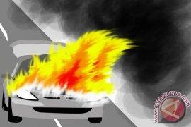 Kebakaran Hanguskan Empat Mobil di Temanggung