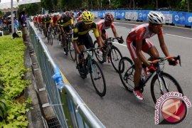 Atlet Balap Sepeda Tetap Latihan Selama Ramadhan