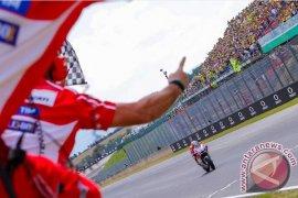 Dovizioso menangi MotoGP Ceko, Rossi finis posisi empat