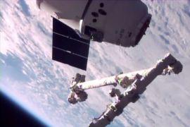 Pesawat daur ulang pertama SpaceX tiba di stasiun antariksa