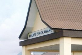 Polres Singkawang Tindaklanjuti Laporan FPI
