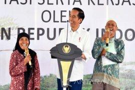 Presiden Bagikan 2.553 Sertifikat Tanah di Tasikmalaya (Video)