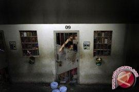 Beberapa tahanan Rutan Pekanbaru kabur lagi