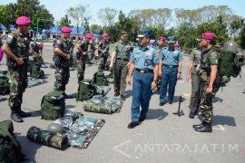 Waasops Panglima TNI Cek Kesiapan Satgasmar Ambalat