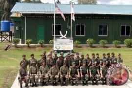 Danrem 121/ABW Kunjungi Pos Gabungan Malindo