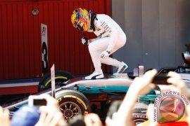 Peluang Hamilton raih gelar juara dunia F1 di Austin