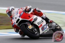 Menangi GP Catalunya, Dovizioso bayangi Vinales di klasemen MotoGP 2017