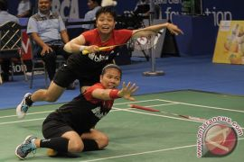 Greysia/Apriyani ke semifinal Indonesia Masters 2018