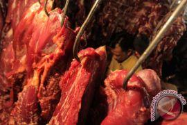 Harga daging sapi bertahan tinggi jelang Natal