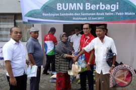 Bantuan Pelindo I Untuk Masyarakat