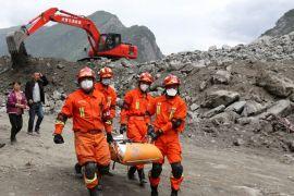 Longsor terjadi di China tewaskan 11 orang