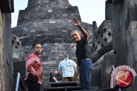 Obama bilang Candi Prambanan indah sekali