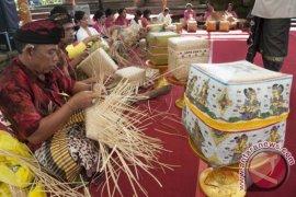 Ekspor kerajinan anyaman Bali naik 87,36 persen