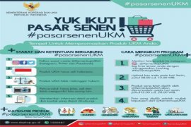 Kemenkop-UKM Membuka Kanal Promosi 'Pasar Senen'